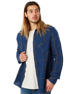 WINDOW CHECK OUTLET MENS NUDIE JEANS CO SHIRTS - 140566C28