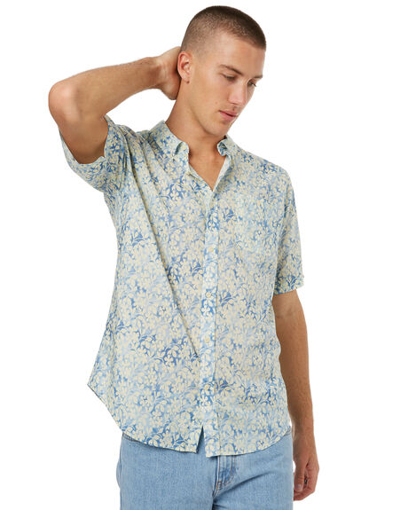 BLUE MENS CLOTHING EZEKIEL SHIRTS - ES172017BLUE