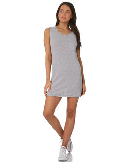 INK BLUE WOMENS CLOTHING RUSTY DRESSES - DRL0940IBE