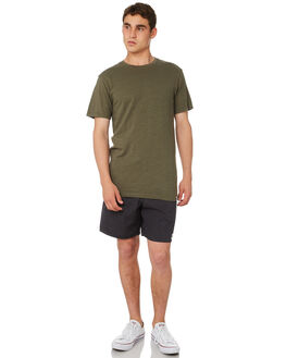 OLIVE MENS CLOTHING RHYTHM TEES - OCT18M-CT01-OLI
