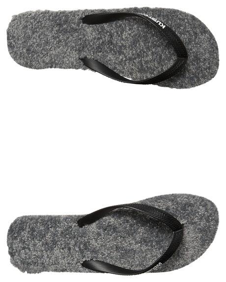 GREY HEATHER MENS FOOTWEAR KUSTOM THONGS - 4976201AGRY