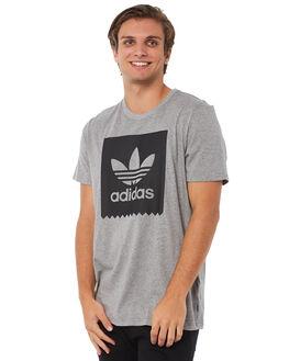 CORE HEATHER MENS CLOTHING ADIDAS ORIGINALS TEES - CW2338CHTR