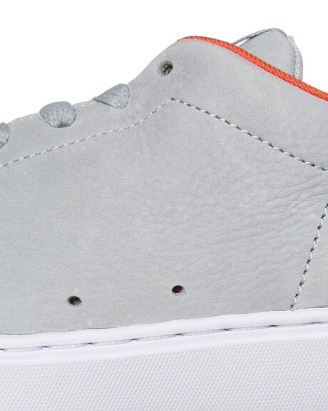 GREY ORANGE MENS FOOTWEAR DC SHOES SNEAKERS - ADYS100415GO6