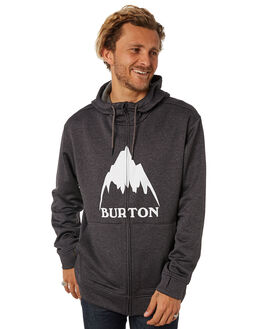 TRUE BLACK HEATHER MENS CLOTHING BURTON JUMPERS - 162241001