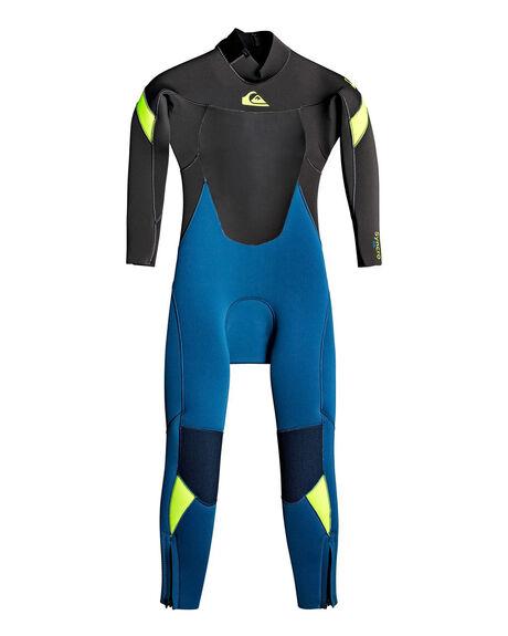 MARINA/ JET BLACK BOARDSPORTS SURF QUIKSILVER BOYS - EQKW103004-XBBK