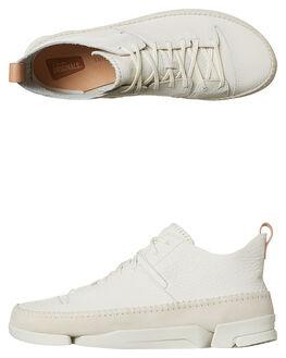 WHITE MENS FOOTWEAR CLARKS ORIGINALS SNEAKERS - SS26117-915M