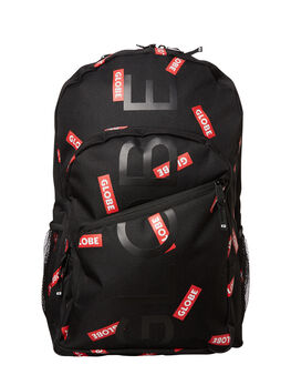 BLACK RED GREY MENS ACCESSORIES GLOBE BAGS - GB71619016BRE