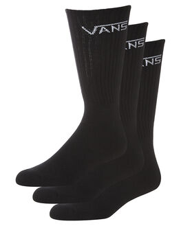 BLACK MENS CLOTHING VANS SOCKS + UNDERWEAR - VN-0XSEBLKBLK