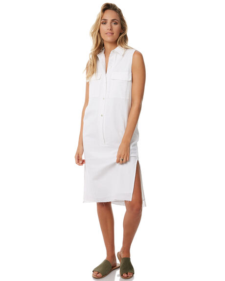 WHITE WOMENS CLOTHING TEE INK DRESSES - CAST19BWHT
