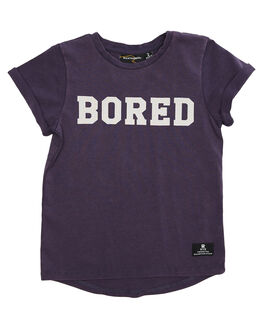 GRAPE WASH KIDS TODDLER BOYS ROCK YOUR BABY TOPS - TBT1852-BGRPW