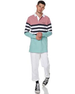 PINK MENS CLOTHING STUSSY SHIRTS - ST076107PINK