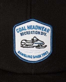 BLACK MENS ACCESSORIES COAL HEADWEAR - 235804BLK