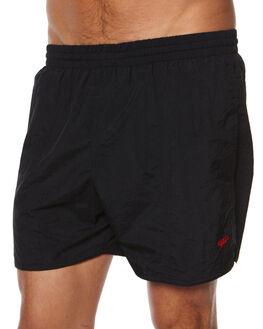BLACK MENS CLOTHING SPEEDO BOARDSHORTS - 15691BLK1