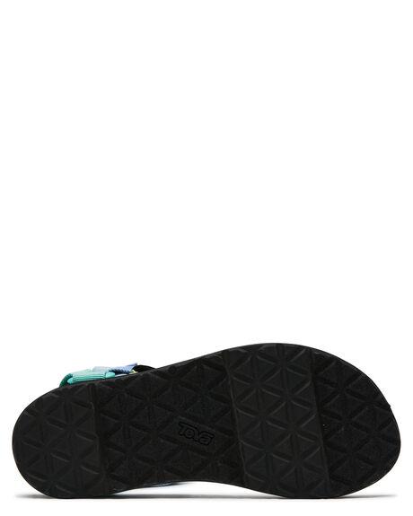 GREEN MULTI WOMENS FOOTWEAR TEVA FASHION SANDALS - T1003987LGRM