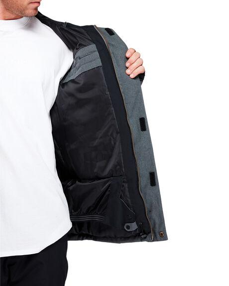 BLACK HEATHER BOARDSPORTS SNOW QUIKSILVER MENS - EQYTJ03221-KRPH