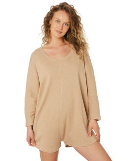 SAND WOMENS CLOTHING ZULU AND ZEPHYR PLAYSUITS + OVERALLS - ZZ2547SND