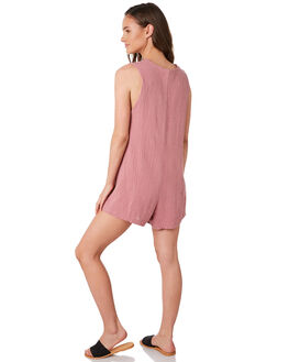 MAUVE WOMENS CLOTHING RHYTHM PLAYSUITS + OVERALLS - JAN20W-JS02MAUVE