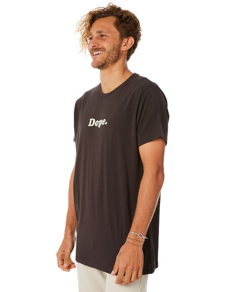 BLACK MENS CLOTHING ROLLAS TEES - 15296100