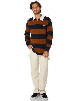 DARK NAVY BROWN DUCK MENS CLOTHING DICKIES SHIRTS - K1190204DNBD