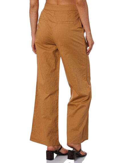 TOBACCO WOMENS CLOTHING NUDE LUCY PANTS - NU23966TOB