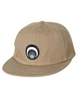 BEIGE MENS ACCESSORIES VOLCOM HEADWEAR - D5541912BGE