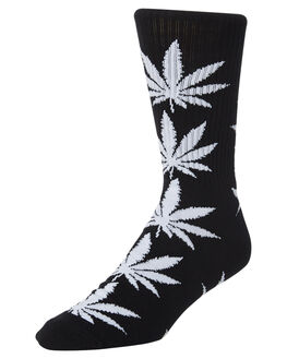 BLACK MENS CLOTHING HUF SOCKS + UNDERWEAR - SK00298-BLACK