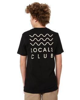 BLACK KIDS BOYS SWELL TOPS - S3184010BLACK