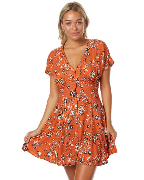 MULTI WOMENS CLOTHING MINKPINK DRESSES - MP1702457MLT
