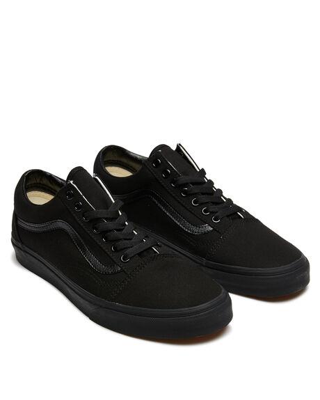 BLACK BLACK WOMENS FOOTWEAR VANS SNEAKERS - SSVN-0D3HBKABLKBW