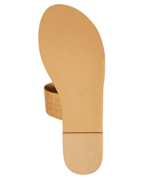 TAN LINEN WOMENS FOOTWEAR BILLINI FASHION SANDALS - S404TANLN