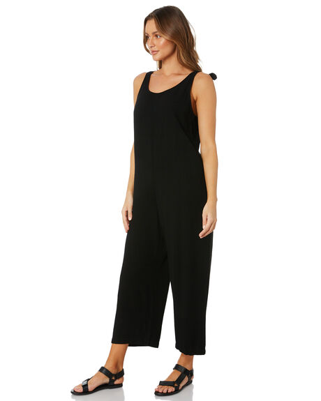 BLACK WOMENS CLOTHING SWELL PLAYSUITS + OVERALLS - S8211457BLACK