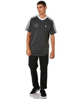 GRANITE WHITE BLACK MENS CLOTHING ADIDAS TEES - DU8395BLKWG