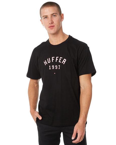 BLACK OUTLET MENS HUFFER TEES - MTE82S220544BLK