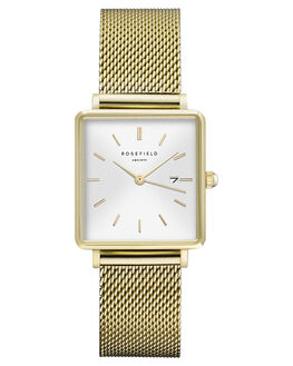 WHITE GOLD WOMENS ACCESSORIES ROSEFIELD WATCHES - QWSG-Q03WSMG