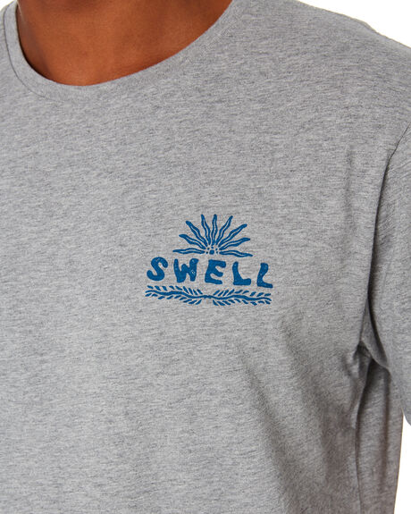 GREY MARLE MENS CLOTHING SWELL TEES - S5203015GRYMA