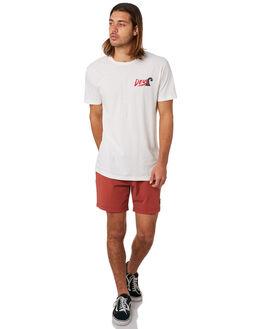 VINTAGE WHITE MENS CLOTHING DEUS EX MACHINA TEES - DMP91787CVNWHT