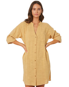 MUSTARD WOMENS CLOTHING RIP CURL DRESSES - GDRHV11041