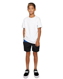 SODALITE BLUE KIDS BOYS DC SHOES SHORTS - EDBWS03054BYB0