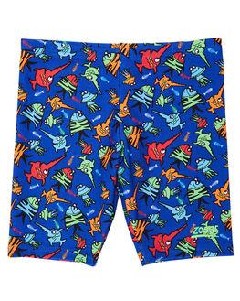 BLUE MULTI KIDS BOYS ZOGGS SWIMWEAR - 7017182BLUMT