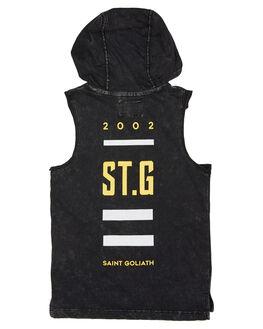 BLACK KIDS TODDLER BOYS ST GOLIATH TOPS - 2820003BLK
