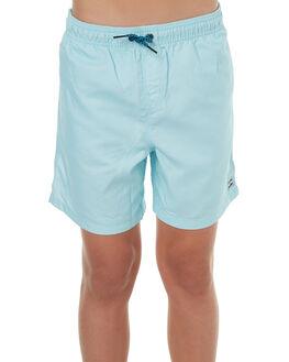 LIGHT BLUE KIDS BOYS BILLABONG BOARDSHORTS - 8571412BLU