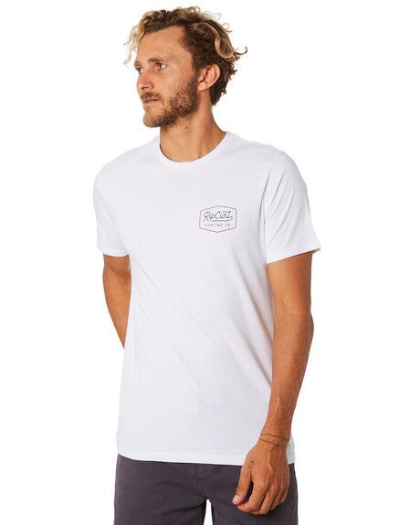 WHITE MENS CLOTHING RIP CURL TEES - CTEJH91000