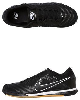 BLACK BLACK MENS FOOTWEAR NIKE SKATE SHOES - AT4607-001