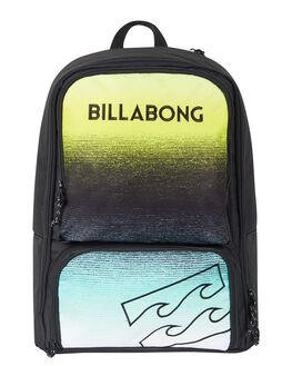BLACK MINT MENS ACCESSORIES BILLABONG BAGS + BACKPACKS - 9695009ABLKMT