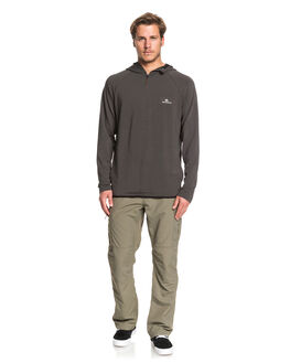 RAVEN MENS CLOTHING QUIKSILVER JUMPERS - EQMKT03068-KSQ0