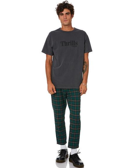 GREEN MENS CLOTHING THRILLS PANTS - TA21-410FGRN