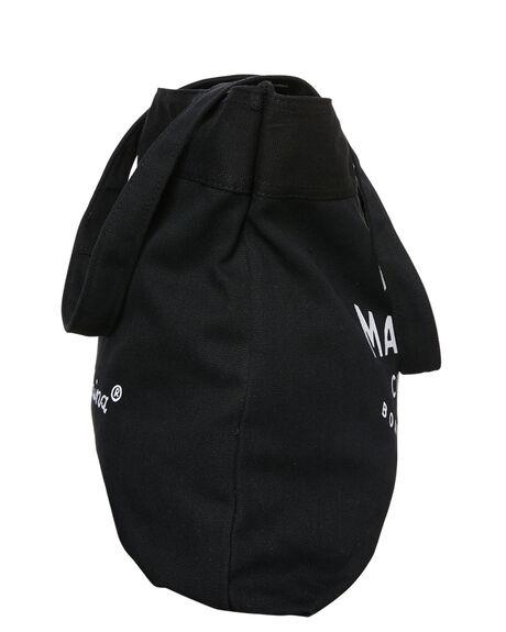 BLACK MENS ACCESSORIES DEUS EX MACHINA BAGS + BACKPACKS - DMF77777BLK