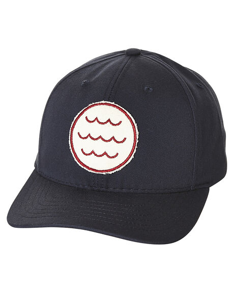 NAVY MENS ACCESSORIES MOLLUSK HEADWEAR - MS1204NVY