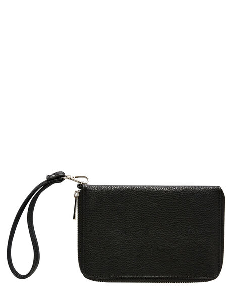 BLACK WOMENS ACCESSORIES RUSTY PURSES + WALLETS - WAL0830BLK