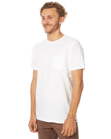 WHITE MENS CLOTHING VOLCOM TEES - A5011611WHT